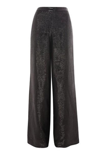 embellished black pants
