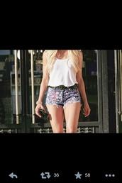 shorts,short party dresses,t-shirt
