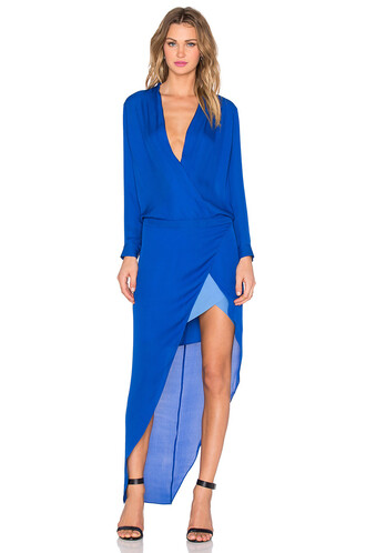 gown long blue