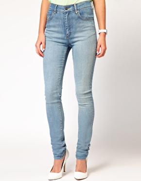 Monday | Cheap Monday High Waist Skinny Jeans at ASOS
