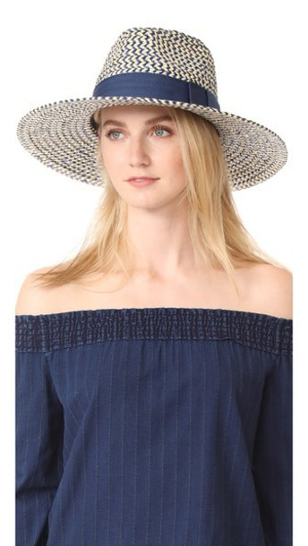 f8b4e914d1ab1 Brixton Joanna Hat in navy   khaki - Wheretoget