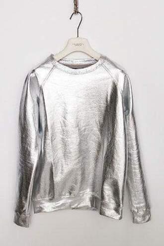 sweater metallic galactic