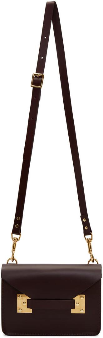 mini bag crossbody bag burgundy