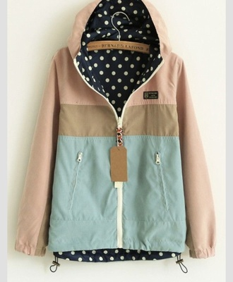 jacket pastel coat light pink