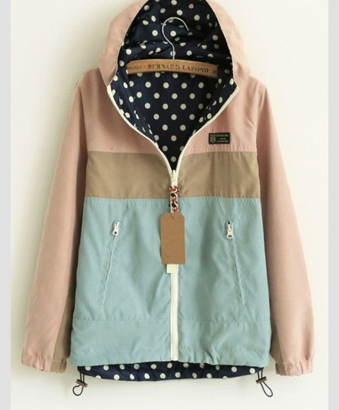 pastel jacket coat light pink