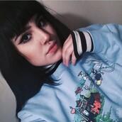 sweater,studio ghibli,blue,grunge,tumblr,totoro