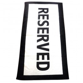 Reserved Beach Towel | Travel | Urban Gifts
