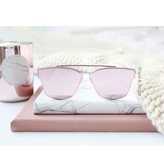 sunglasses royal & regal pink pink sunglasses aviator sunglasses girly summer ootd fashion vibe fashion toast pastel pastel pink beach