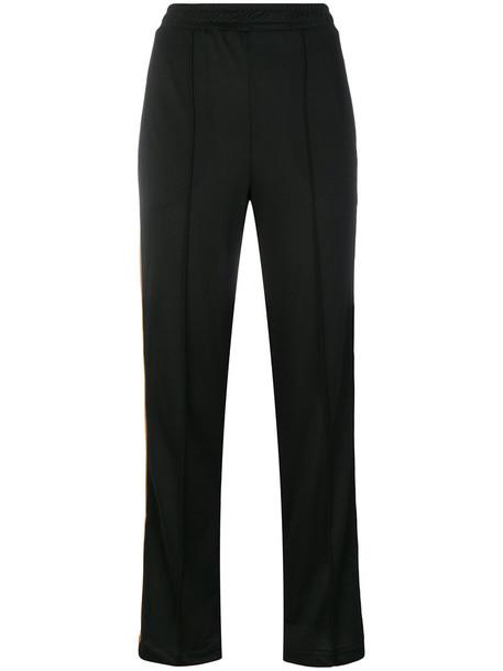 Ganni women spandex black pants