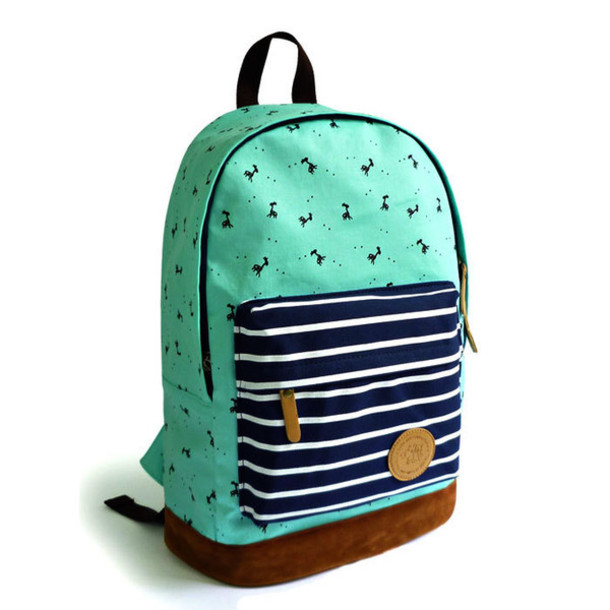 Bag: backpack, school bag, cool, school girl - Wheretoget