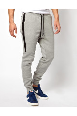 Nike Gray Tech Fleece Venom Sweat Pants