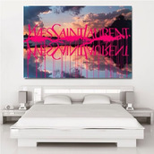 jewels,ysl,painting,home accessory,print,yves saint laurent,bedroom
