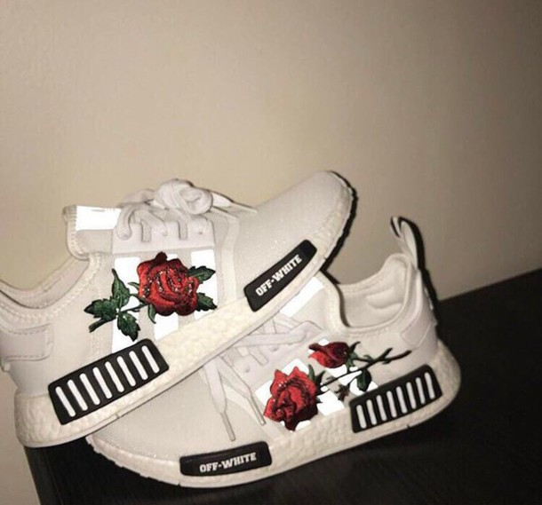 Shoes Adidas Rose White Adidas Shoes Red Rose Off