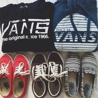 sweater vans oldschool pullovers hoodie since 1966 used look skater