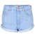MOTO Blue High Waisted Hotpants - Denim  - Clothing  - Topshop