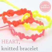 jewels,jewelry,bracelets,bracelet cruciani,heart,heart jewelry,knitwear,knitted braceletf,friendship