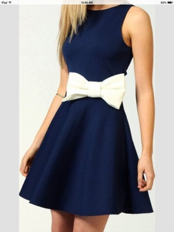 dress bow trendy girly