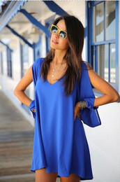 casual dress,chic,chiffon,colorful,dress,fall outfits,cassidy