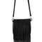 Black tassel satchel bag -shein(sheinside)