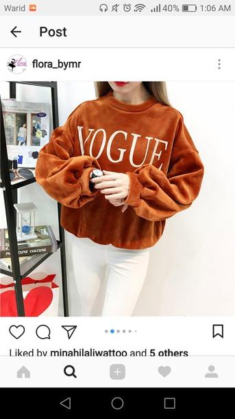 sweater fashion sweatshirt jumper sweater autumn winter love knitted sweayer