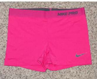 shorts spandex pink nike volleyball