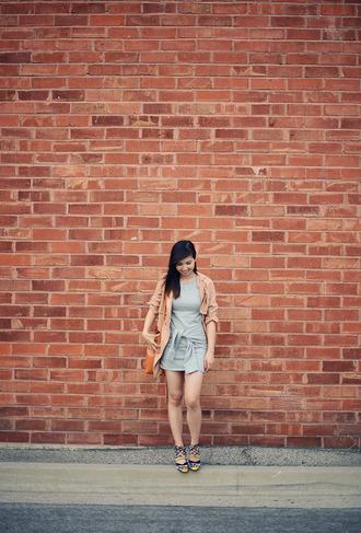 fresh fizzle blogger sweater dress coat shoes
