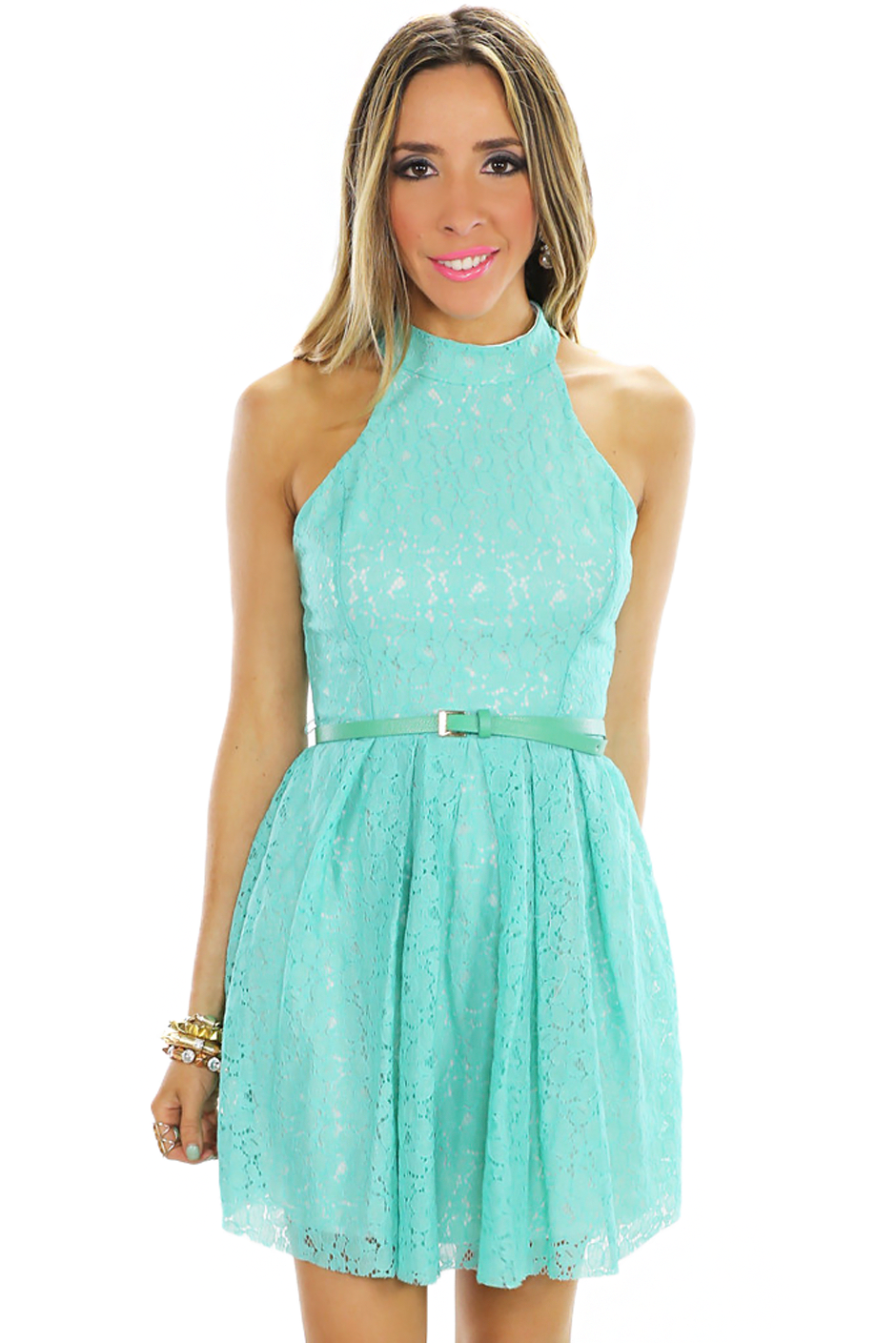 JENNA OPEN BACK LACE DRESS | Haute & Rebellious