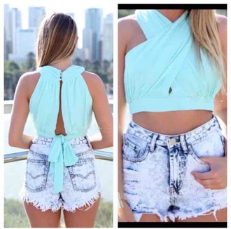 blouse unique wow teal perfecf summr summer