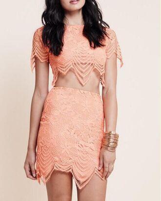 dress orange dress dress corilynn