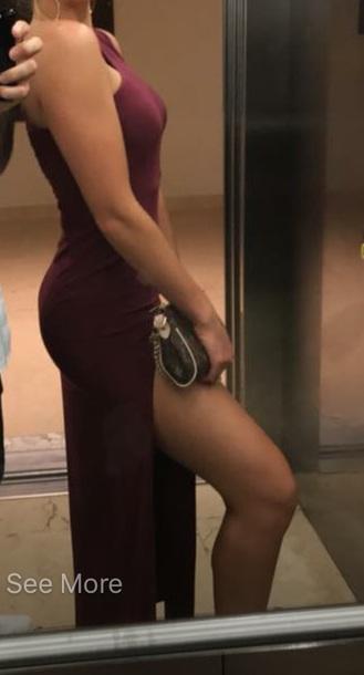 dress maxi dress slit dress