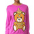 Moschino Long Sleeve Sweater - Violet