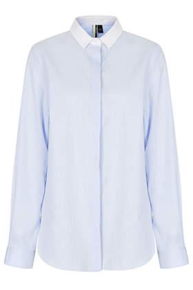 Premium Pinstripe Shirt - Shirts - Tops - Clothing- Topshop
