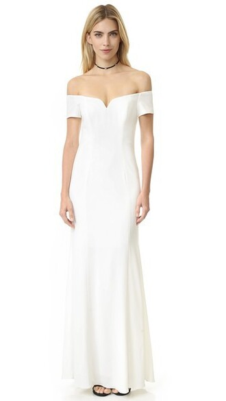 gown short dress