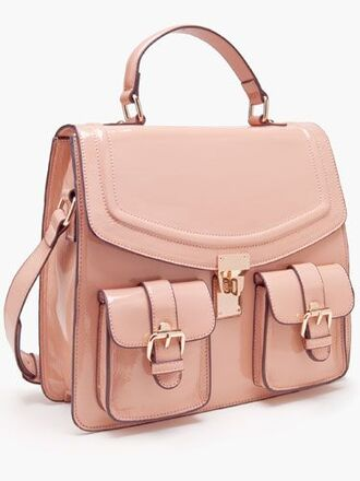 bag satchel satchel bag school bag fashion streetstyle baby pink black friday cyber monday