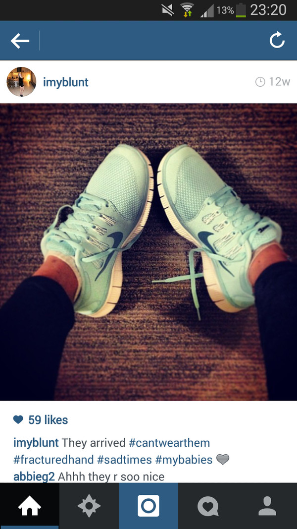 shoes blue green nikes nike running shoes trainers