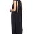 ROMWE   ROMWE Black Goddess Maxi Dress, The Latest Street Fashion