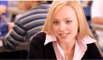 sweater rachel mc adams regina george