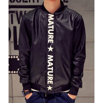 jacket menswear mature black leather hood by air fall outfits mens jacket streetwear rose wholesale mens baseball jacket