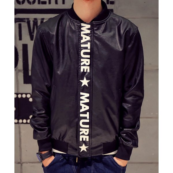 jacket menswear mature black leather hood by air fall outfits mens jacket streetwear rose wholesale mens