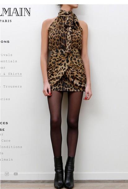 dress animal print