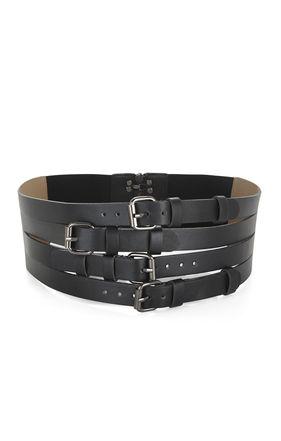 Multistrap-Buckle Waist Belt | BCBG