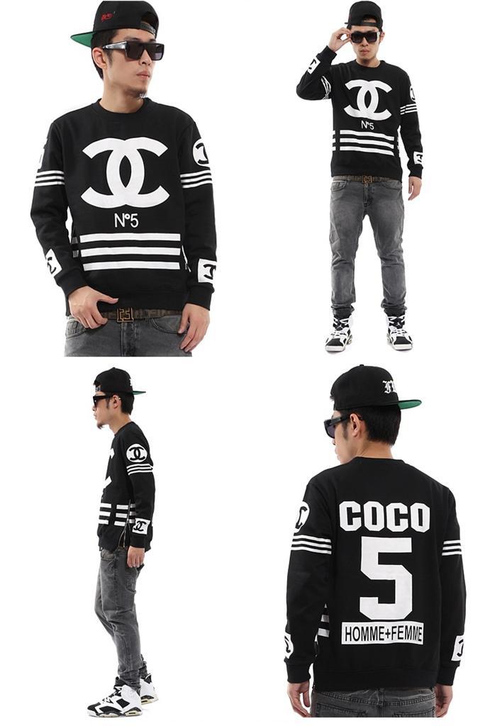 4p20 unisex homme femme hiphop rap street long sleeve zipper crewneck sweatshirt