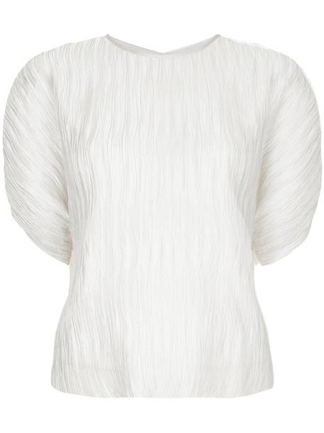 GINGER & SMART blouse women white top