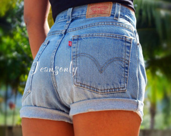 Where To Buy High Waisted Denim Shorts