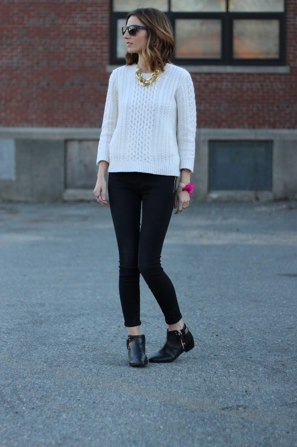 jess style rules sunglasses sweater jeans shoes jewels