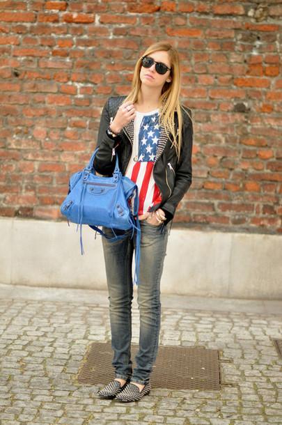 studded black leather chiara ferragni the blonde salad shoes jacket