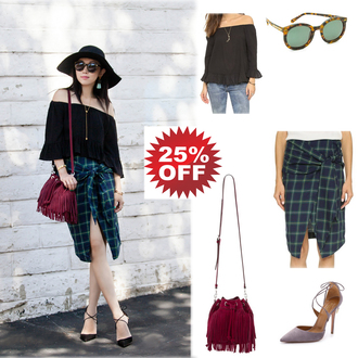fit fab fun mom blogger bag shoes skirt top sunglasses jewels hat shirt jeans sweater