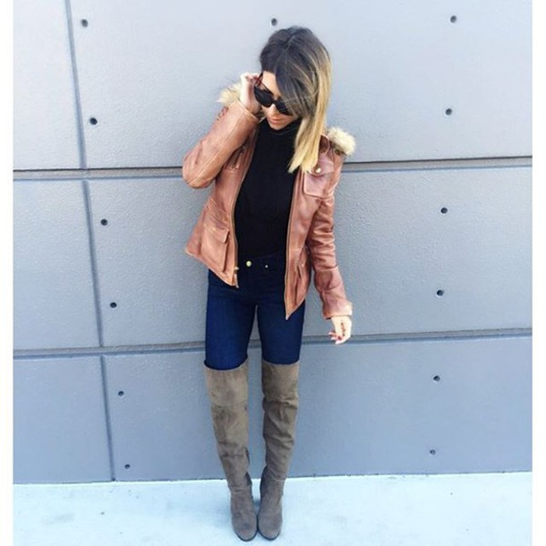7ec7a4c02 shoes blouse over the knee boots over the knee black black boots olive  green olive green