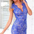 Blue Lace Khloe Dress