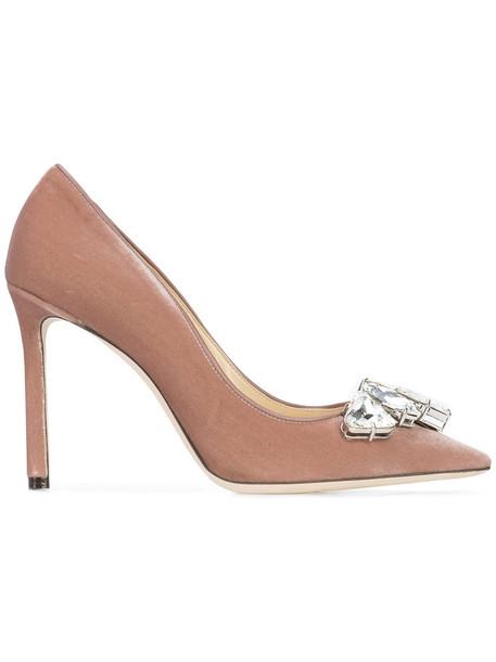 women 100 pumps leather velvet purple pink shoes